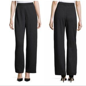 St. John Collection 14  black knit pants